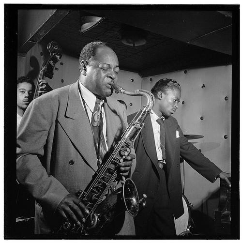 Coleman Hawkins ir Miles Davis,1944